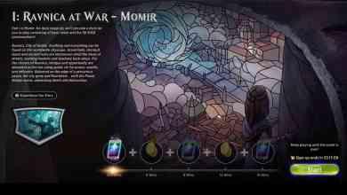 Foto de Atualização no jogo digital Magic: The Gathering Arena