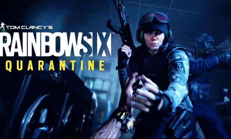 Photo of Rainbow Six Quarantine anunciado pela Ubisoft