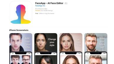 Foto de FaceApp foi um teste. Nós não passamos