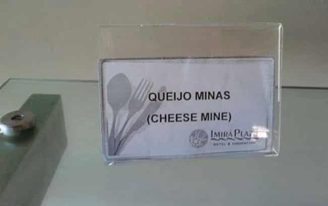Os erros de tradução na culinária