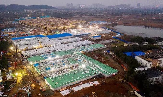 Brasil x China! Por que os chineses fizeram um hospital com 1.000 leitos em 10 dias e a gente aqui demora tanto? 1