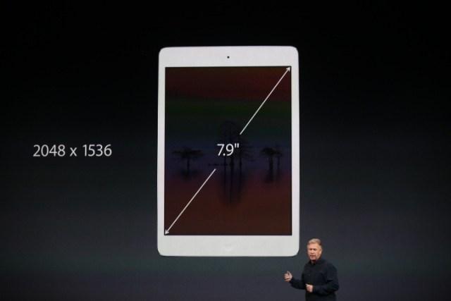 O novo iPad mini