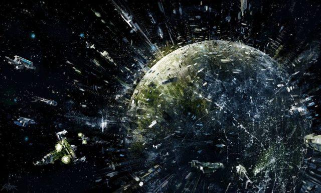 planeta trantor utilizando a energia de todo planeta