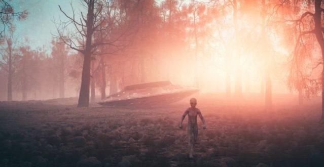Como os seres humanos reagiriam a um encontro com extraterrestres?