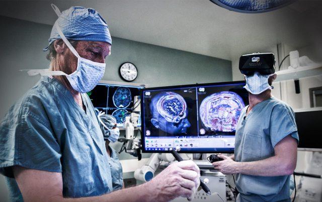 Cirurgia com realidade virtual, uma ajuda para os médicos