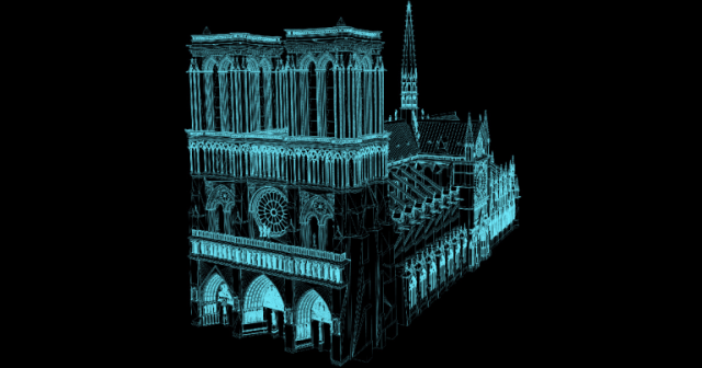 Reconstruir a Catedral de Notre Dame se tornará mais fácil…