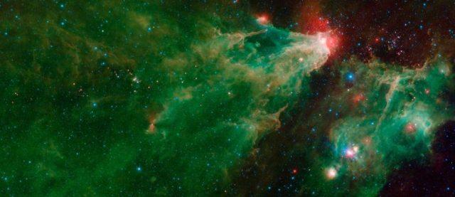 Retrato estelar capturado pelo Telescópio Espacial Spitzer