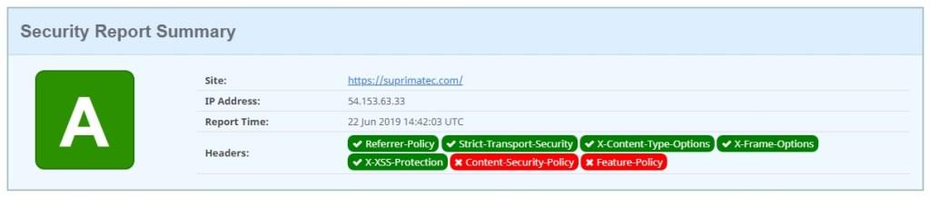 Os cabeçalhos de segurança HTTP adicionam outra camada de segurança, ajudando a aliviar ataques e vulnerabilidades de segurança.