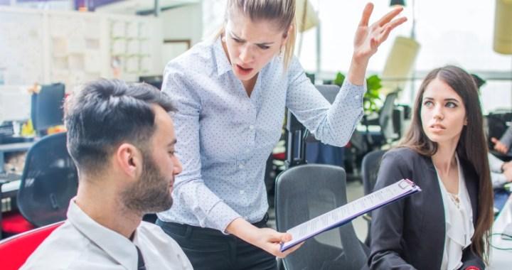 Chefes não aceitam ideias, os funcionários não falam mais