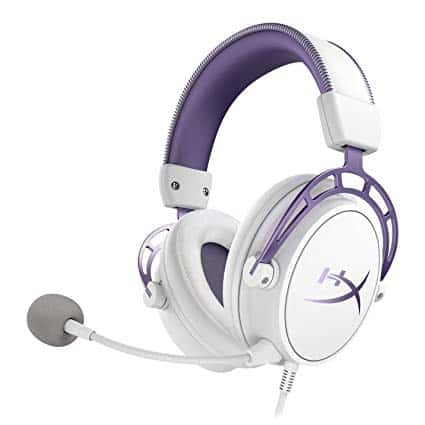 headset HyperX Cloud Alpha Purple Edition