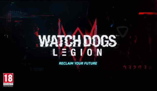 E3 2019: Ubisoft anuncia Watch Dogs: Legion