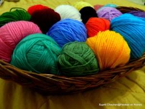 Left over wool