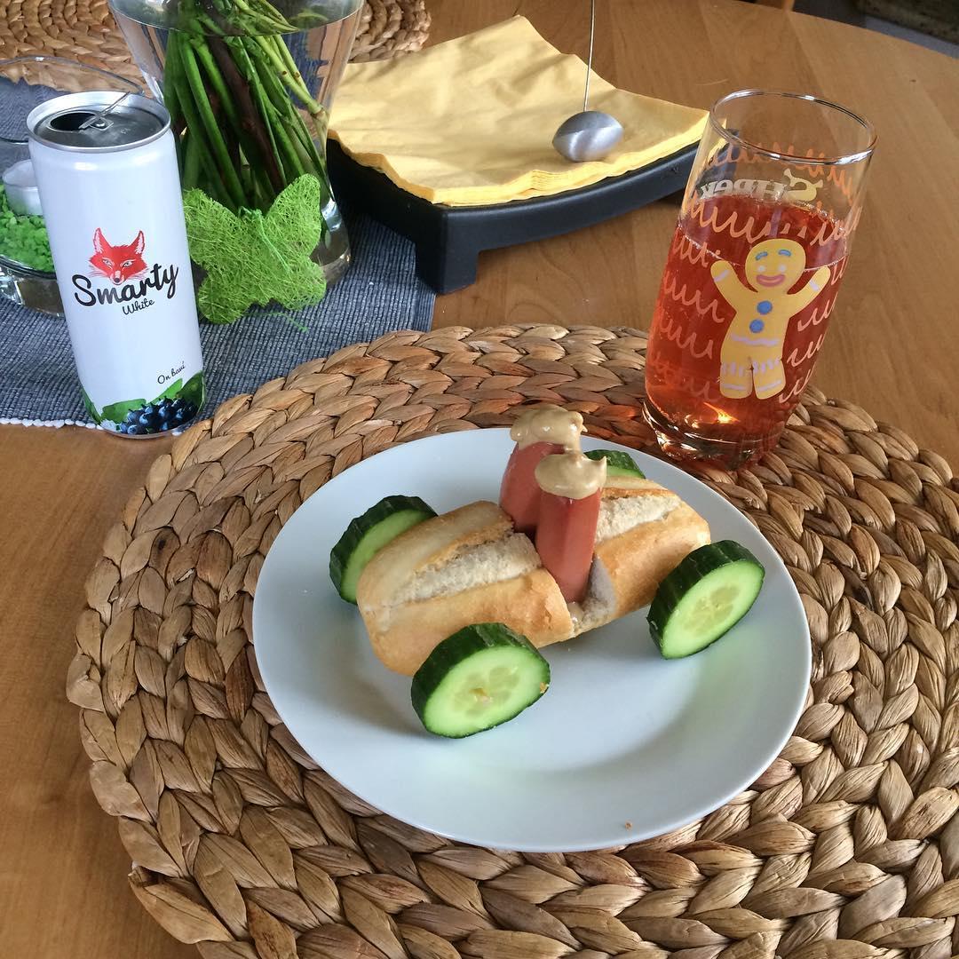 On blázní... Takhle si představuje Dominik Hašek snídaně s jeho drinkem