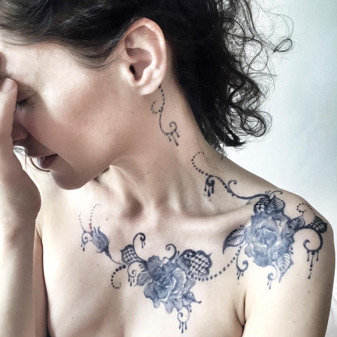 Klára Issová má nové tetování, ale jen na pár týdnů