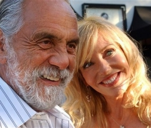 Tommy And Shelby Chong Speak With Reporters At The Th Birthday Sahl Ute To Comic Mort Sahl At Wadsworth Theater In The Brentwood Area Of Los Angeles On