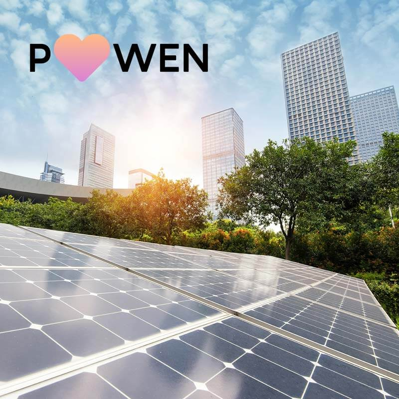 supro proyectos powen solar panels