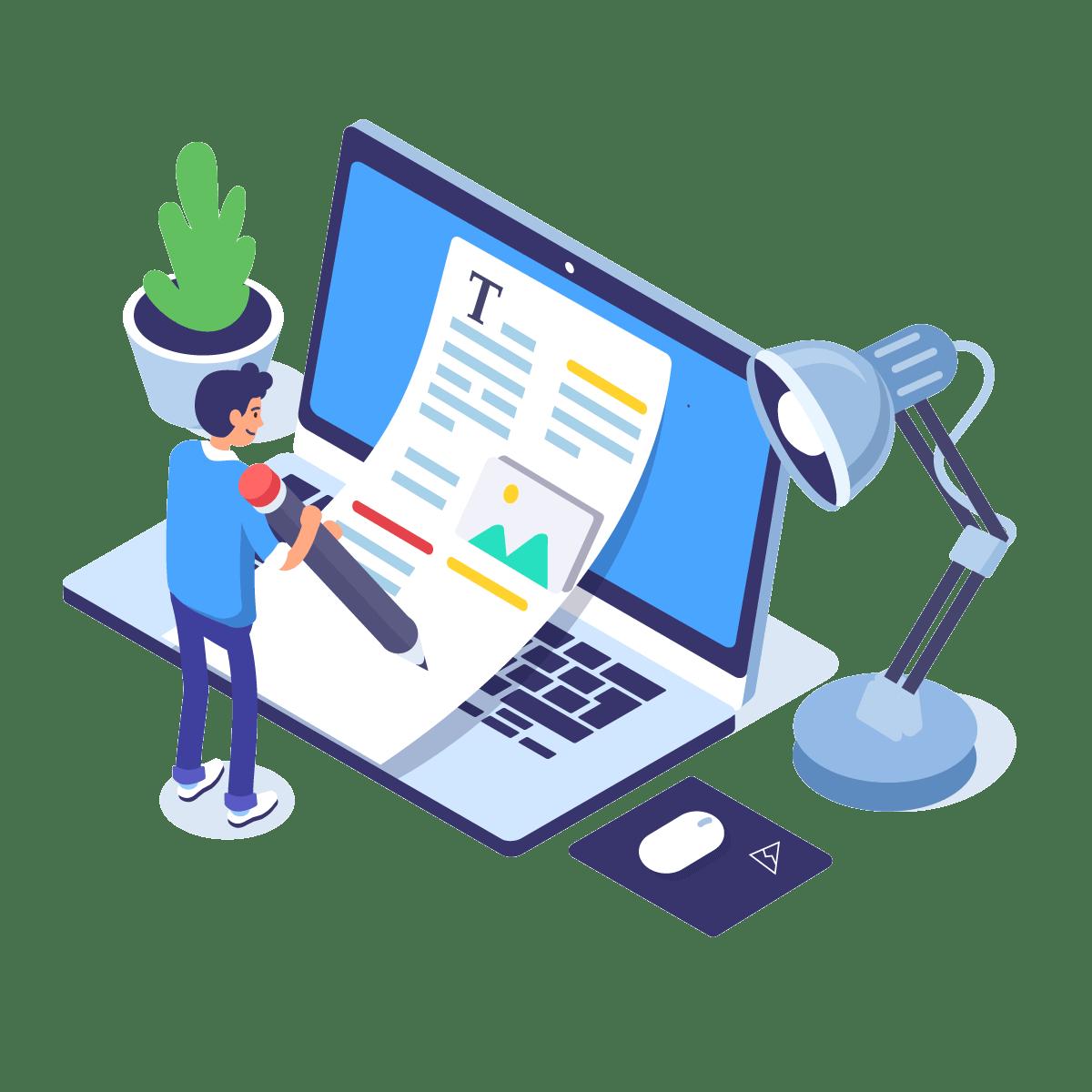 supro sales presentation illustration