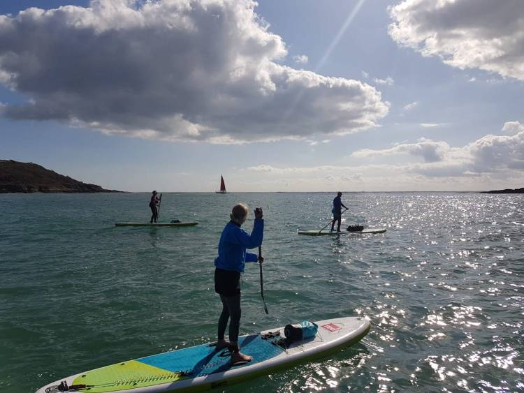 Coastal SUP tour in South Hams
