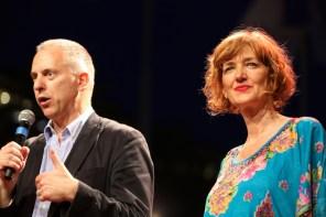 Il Sindaco Marco Doria e Carla Peirolero