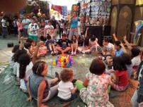 Un laboratorio per bambini (foto del Centro Socio Educativo Fata Carabina)