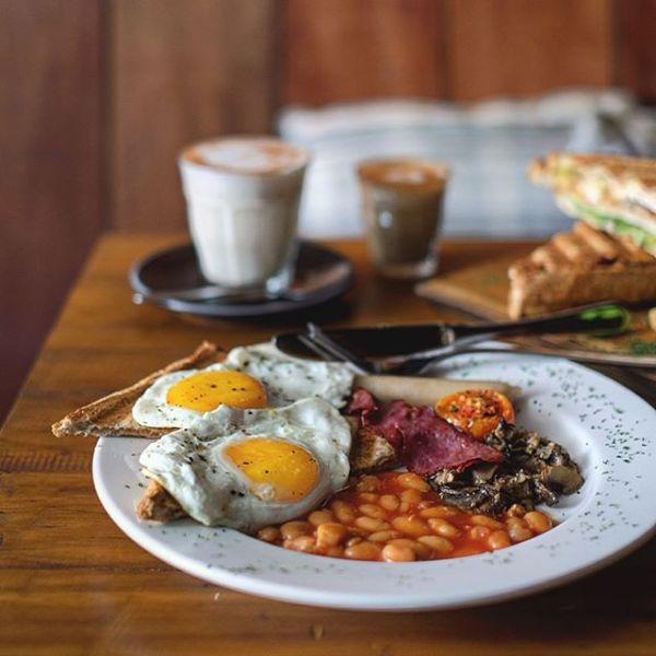 Antler Cabin big breakfast