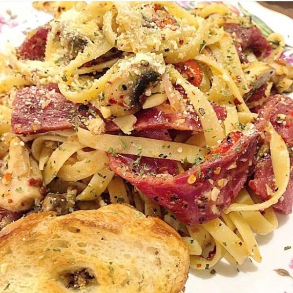 Carpentier Fettucine Aglio E Olio Bacon