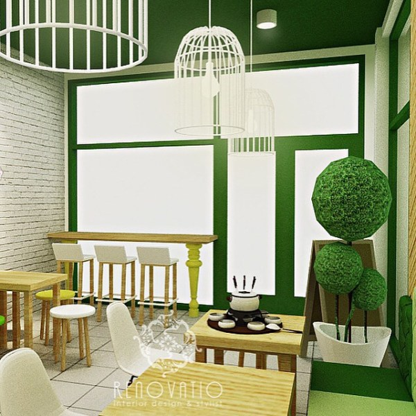 Matcha Cafe dekor2