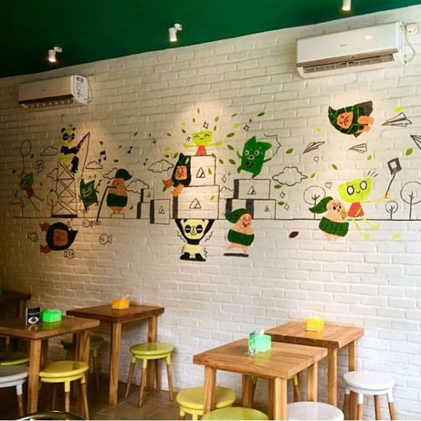 Matcha Cafe dekor3