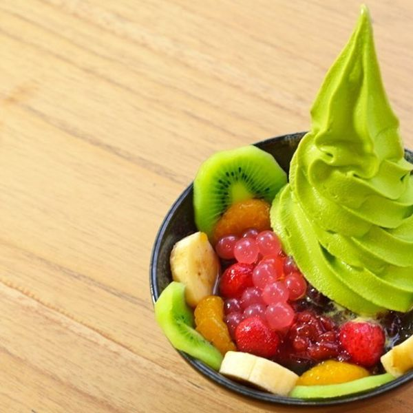 Matcha Cafe fruit anmitsu