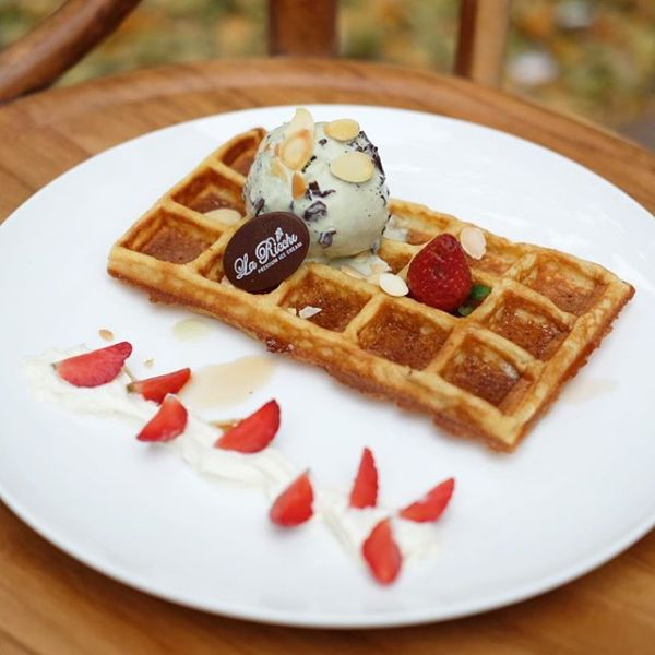 La Ricchi waffle