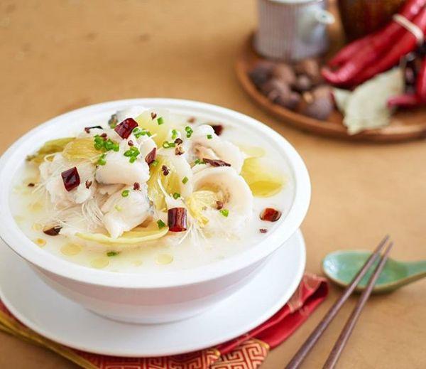 Shanghai Bowl Fillet Ikan segar