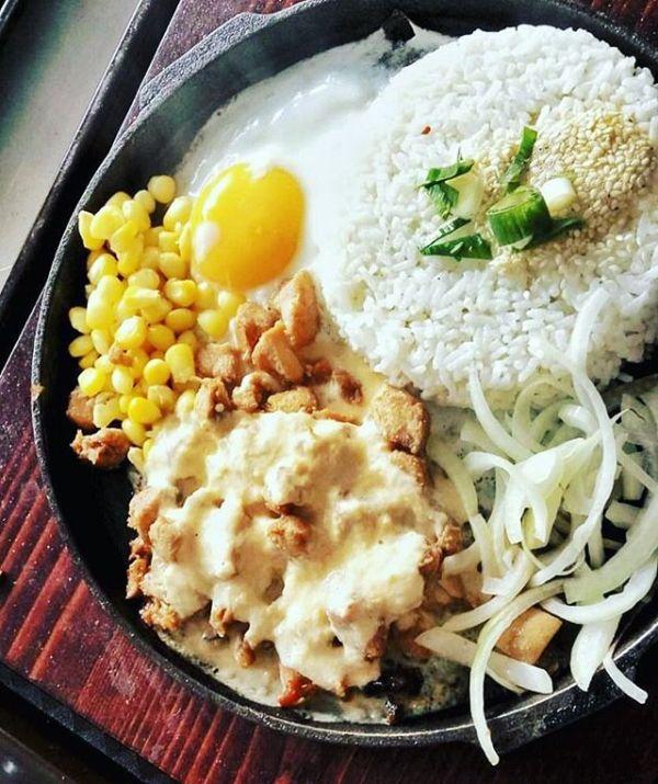 Platter chicken cheese