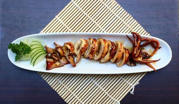 K Sushi grilled squid