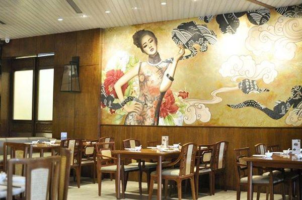 Maystar Restaurant mural