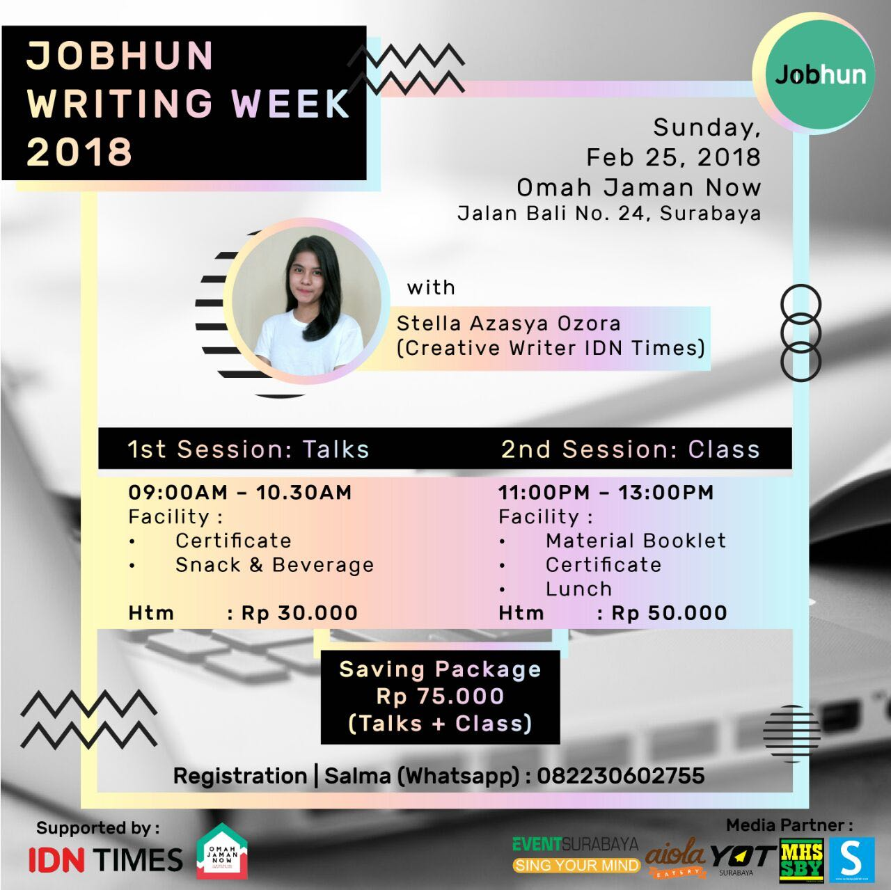 Jobhun Writing Week