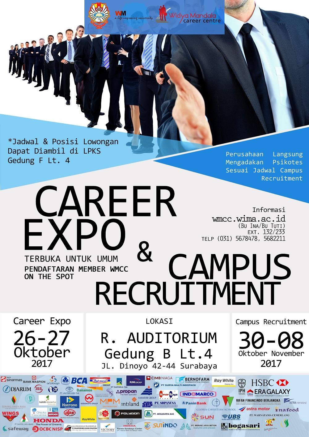 Job Fair Surabaya 26-27 Oktober 2017