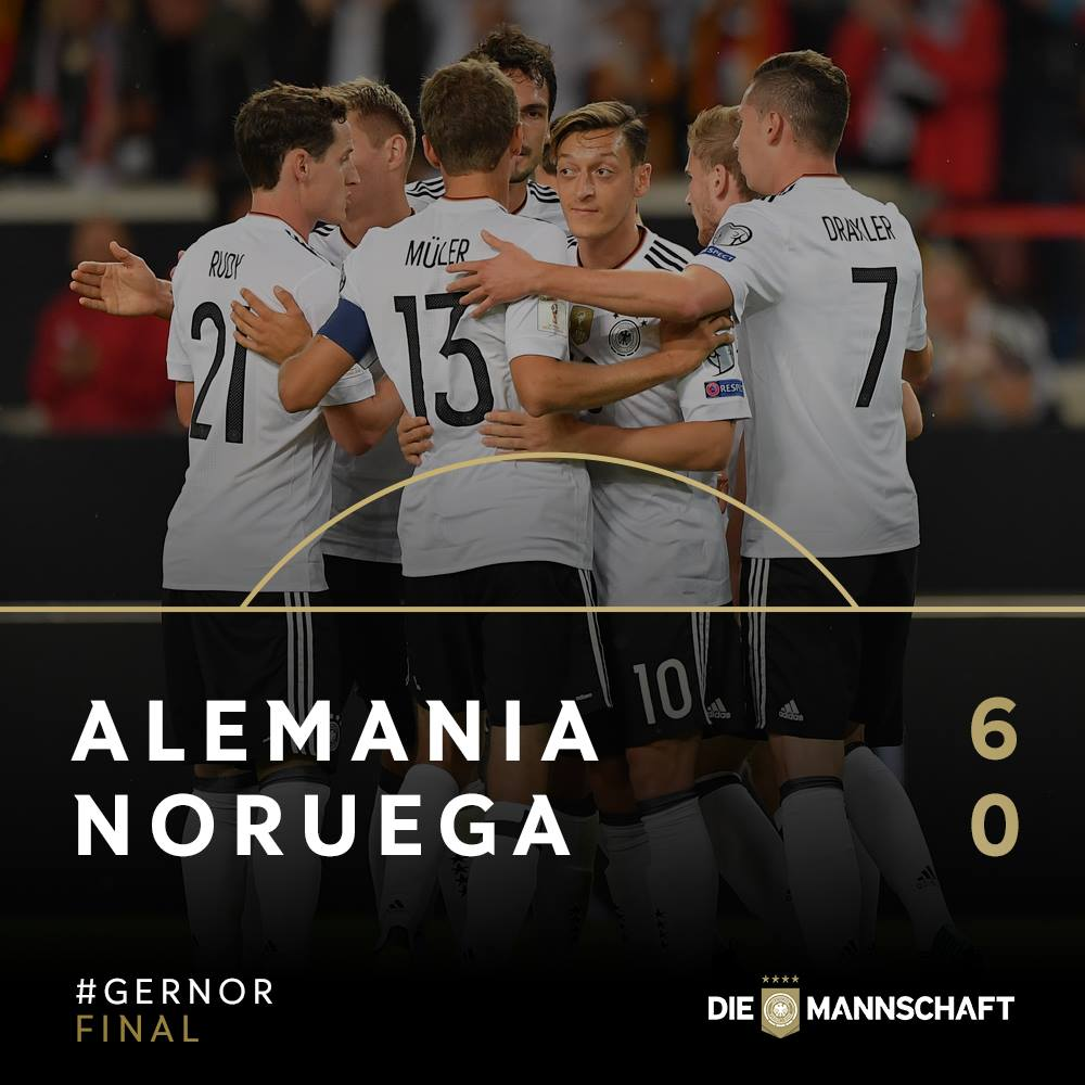 Alemania, noruega