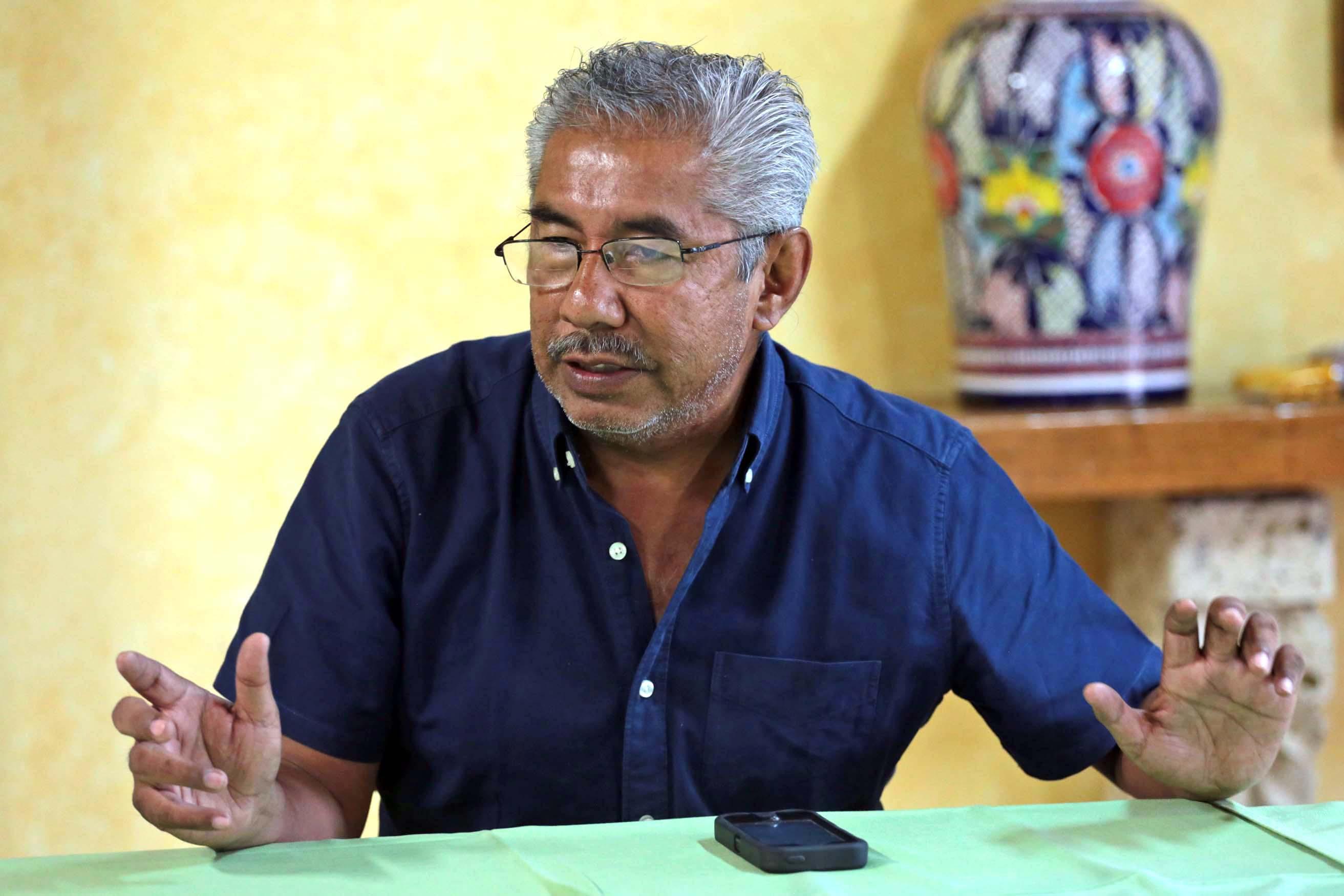 Resultado de imagen para Abel Barrera, director del Centro de Derechos Humanos de la Montaña Tlachinollan de Guerrero