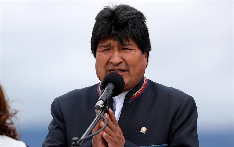 Evo Morales, EFE, 140818
