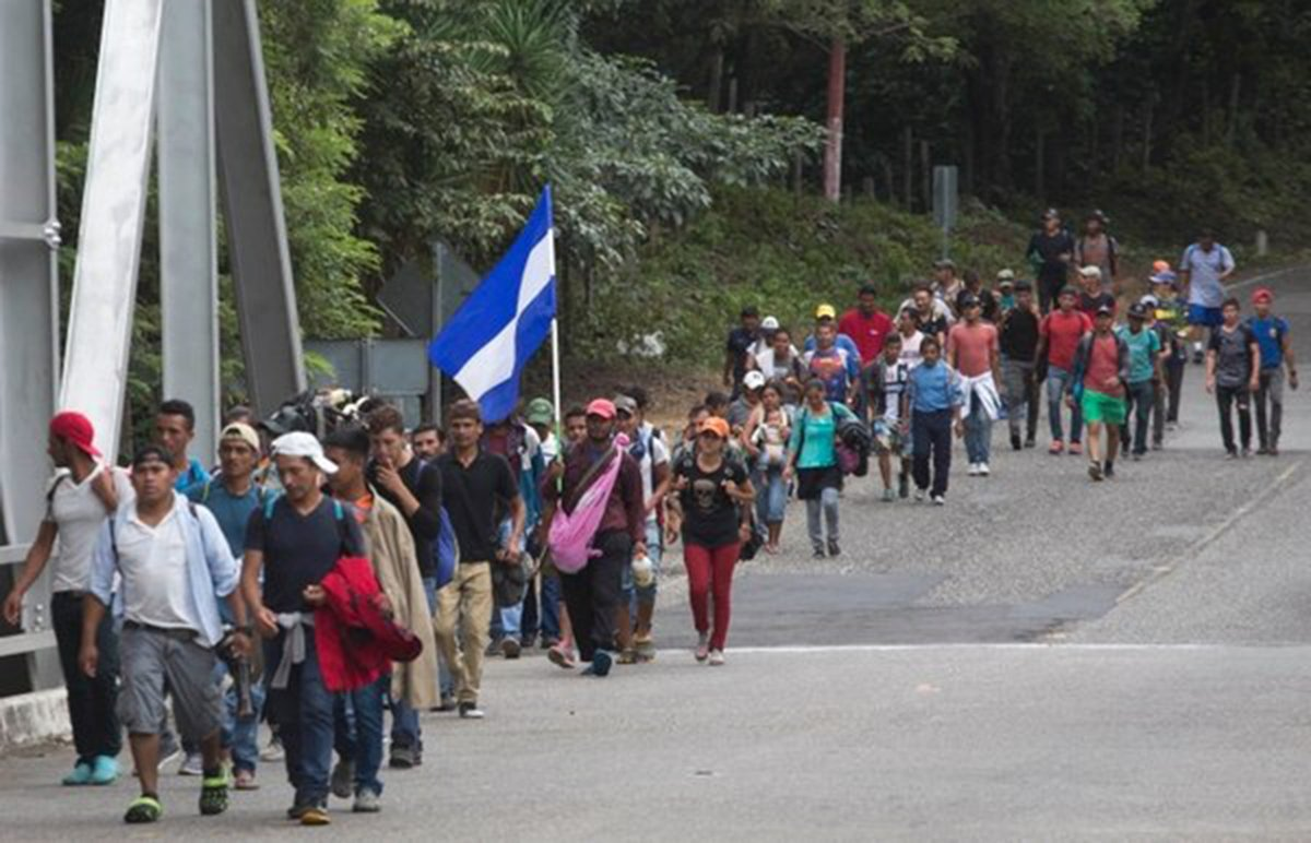 Resultado de imagen para Llegan primeros migrantes a frontera México-Guatemala