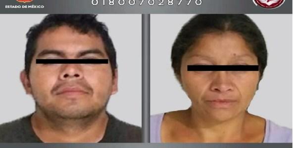 Cae en el Edomex pareja acusada de matar a 10 mujeres