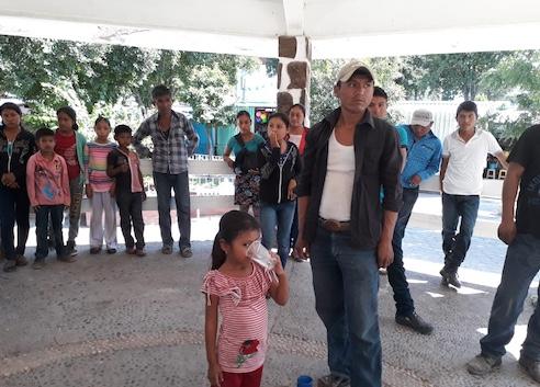 Desplazados por la violencia Tlaltempanapa