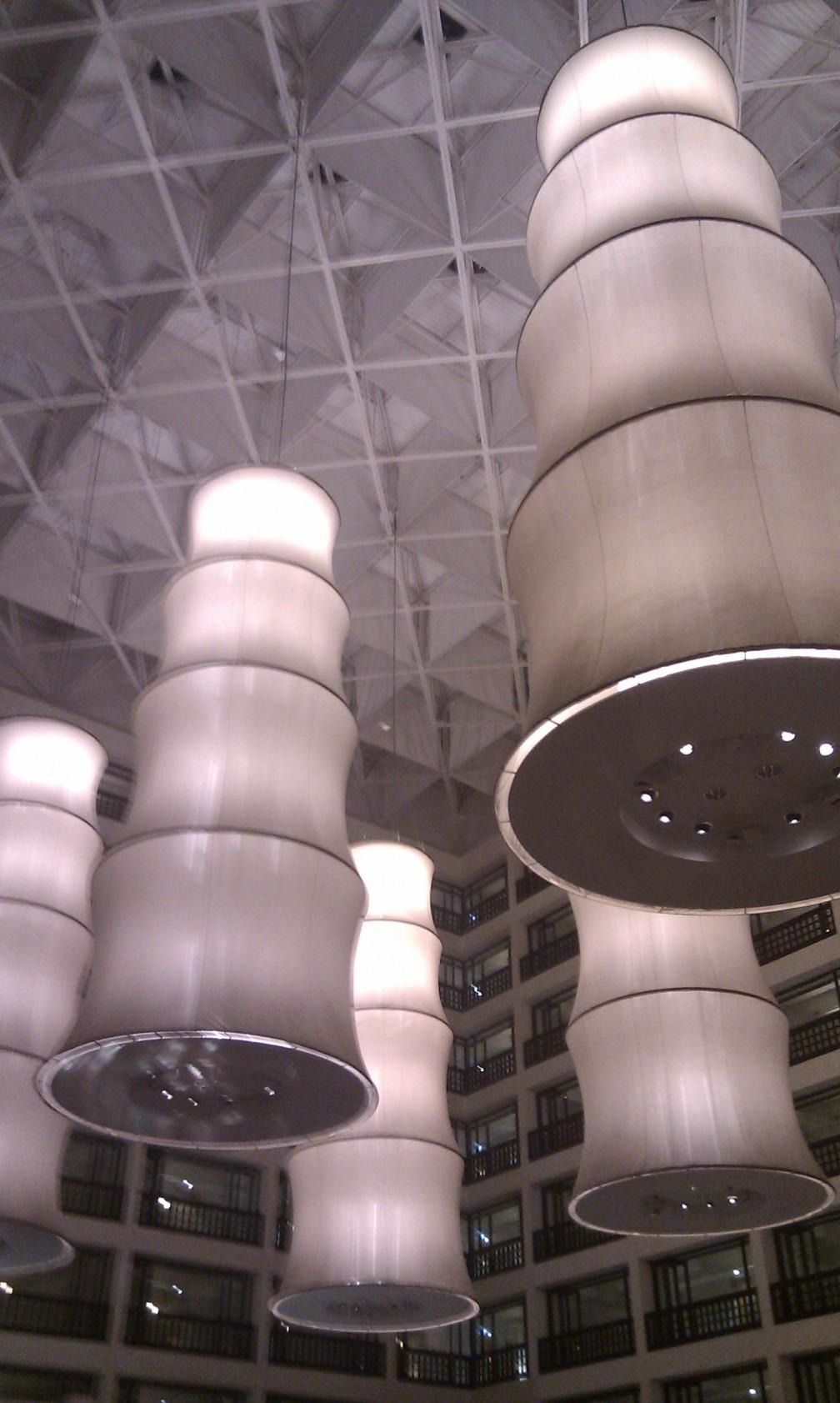 Lighting at the Cinnamon Grand, Colombo