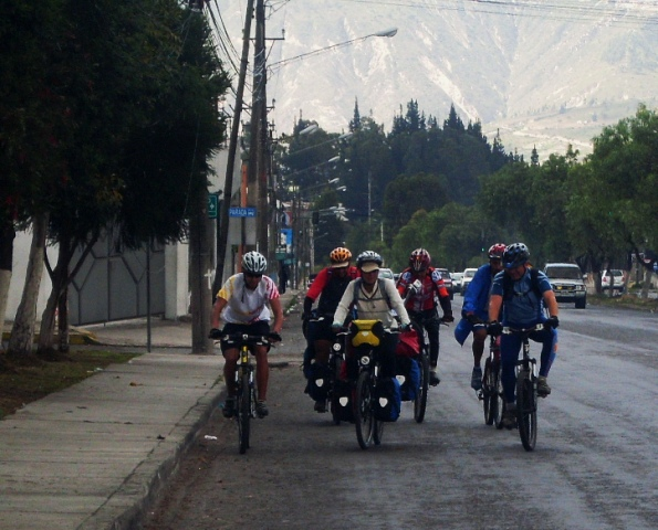 Entrando a Quito