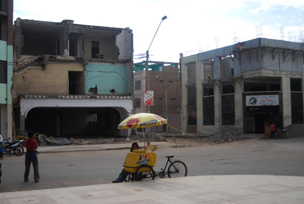 Efectos del terremoto