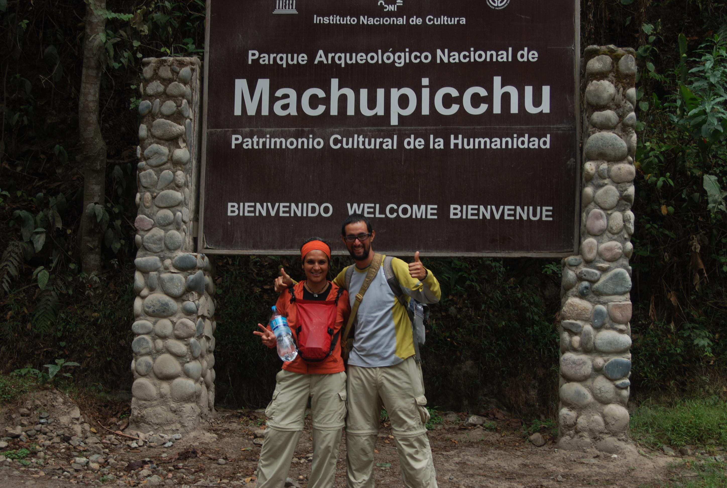 Welcome to Machupicchu