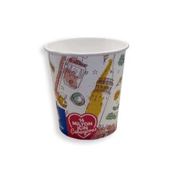 7 Oz Hot Paper Cup (200 ML) – Single Wall