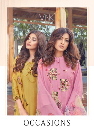 VINK OCCASIONS KURTA WITH PANT AND DUPATTA