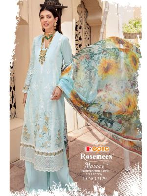 FEPIC ROSEMEEN MARIA B EMBROIDERED LAWN COLLECTION
