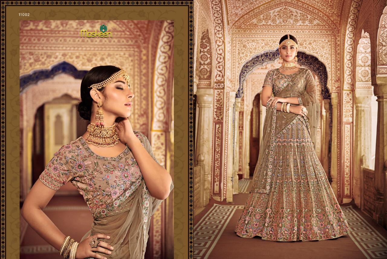 773267746e Maisha Maskeen presents Lehngas vol-2 beautiful bridal designer lehenga  choli wholesaler